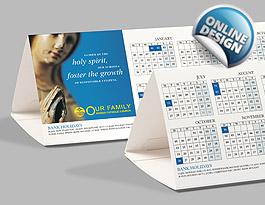 Desktop Tent Calendars  sc 1 st  Easy Print u0026 Signs & Dest Calendars